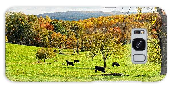 Virginia Autumn Galaxy Case by Olivia Hardwicke