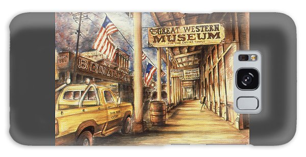 Virginia City Nevada - Western Art Galaxy Case