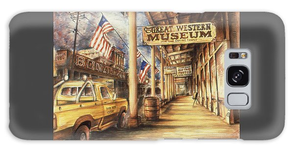 Virginia City Nevada - Western Art Painting Galaxy Case