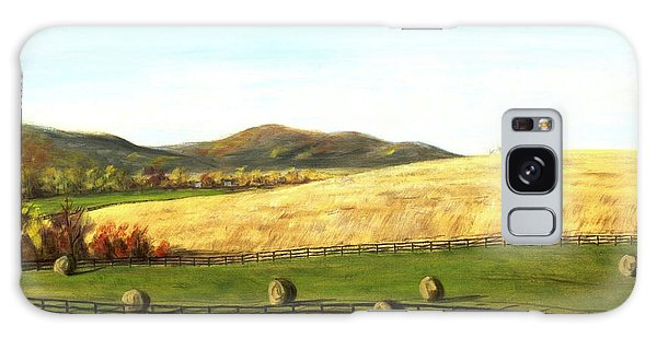 Virginia Countryside Autumn South Of Leesburg Galaxy Case
