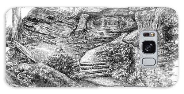 Virginia Kendall Ledges - Cuyahoga Valley National Park Galaxy Case by Kelli Swan