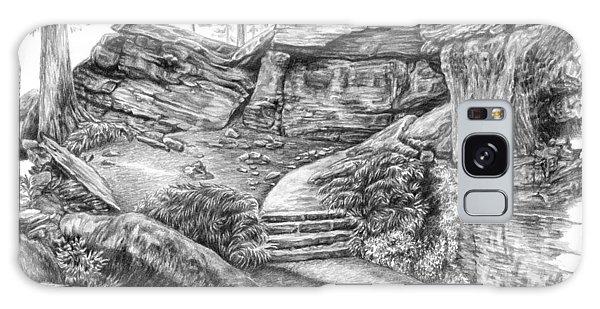 Virginia Kendall Ledges - Cuyahoga Valley National Park Galaxy Case