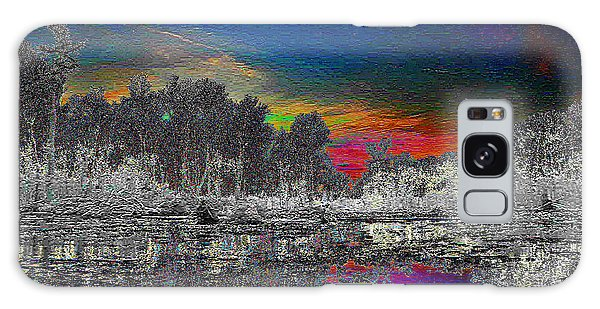 Virginia Landscape Art #1  Galaxy Case by Digital Art Cafe