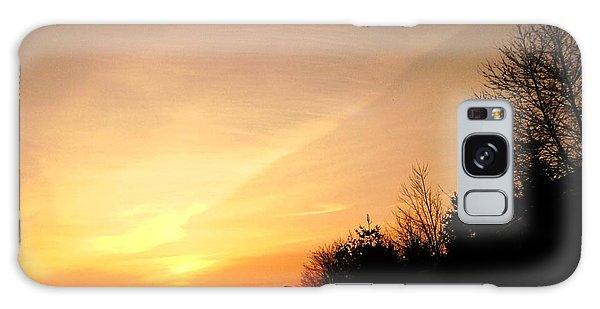 Virginia Sunset Galaxy Case by Carlee Ojeda