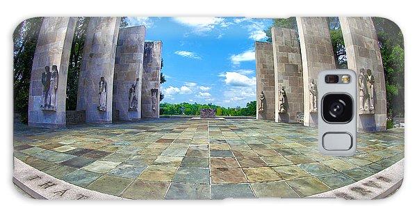Virginia Tech War Memorial Galaxy Case by Mitch Cat