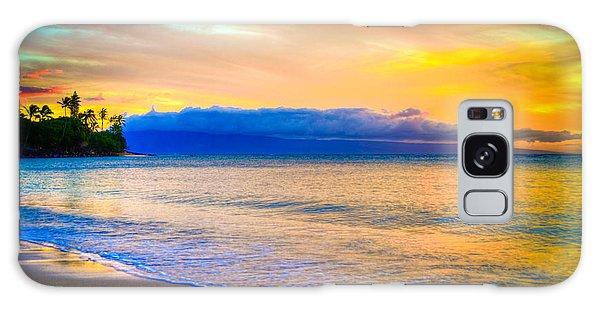 Vibrant Maui Galaxy Case