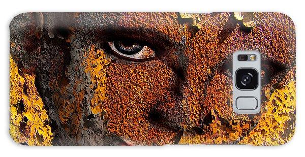 Virtual Face In Grafitti Galaxy Case