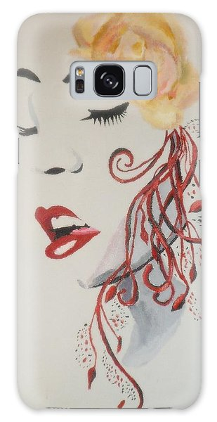 Vision In Silhouette Galaxy Case by Cherise Foster
