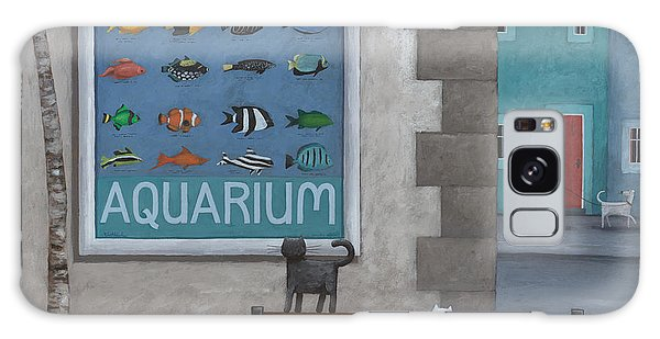 Town Square Galaxy Case - Visit The Aquarium by MGL Meiklejohn Graphics Licensing