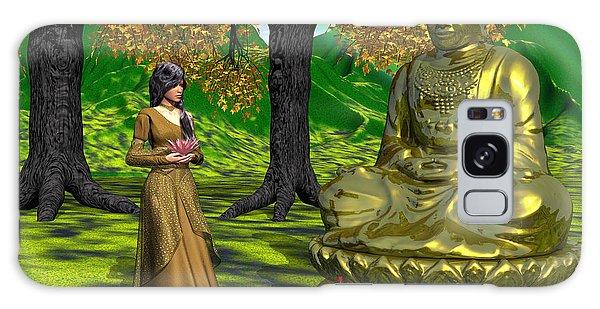 Visiting Buddha Galaxy Case