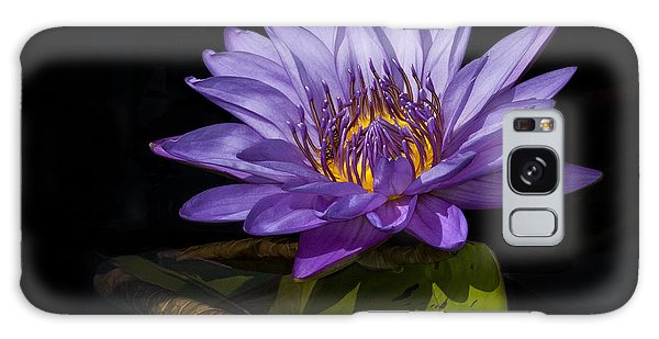 Visitor To The Water Lily Galaxy Case