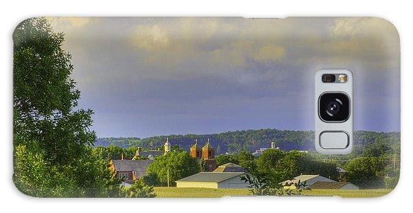 Vista At Tildon Wisconsin Galaxy Case by Larry Capra