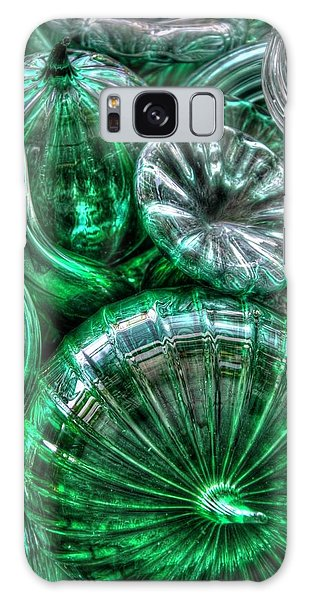 Vitreous Verdant Abstract Galaxy Case