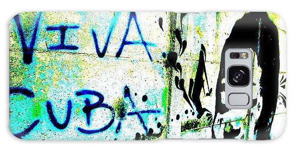 Viva Cuba Street Art Galaxy Case