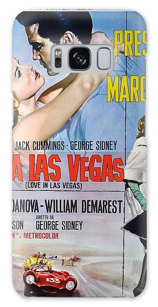 Sixties Galaxy Case - Viva Las Vegas by Georgia Fowler
