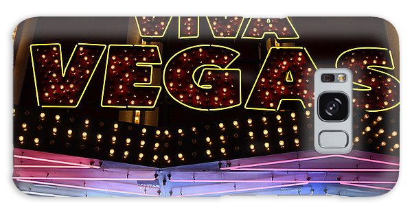Viva Vegas Neon Galaxy Case by Bob Christopher