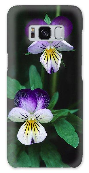 Vivacious Viola  Galaxy Case by Bijan Pirnia