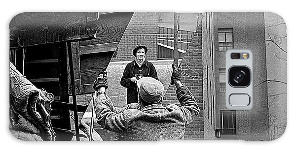 Vivian Maier Self Portrait Probably Taken In Chicago Illinois 1955 Galaxy Case by David Lee Guss