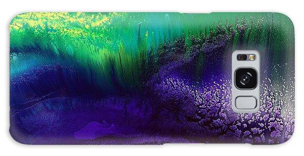 Vivid Abstract Original Landscape Art By Kredart  Galaxy Case