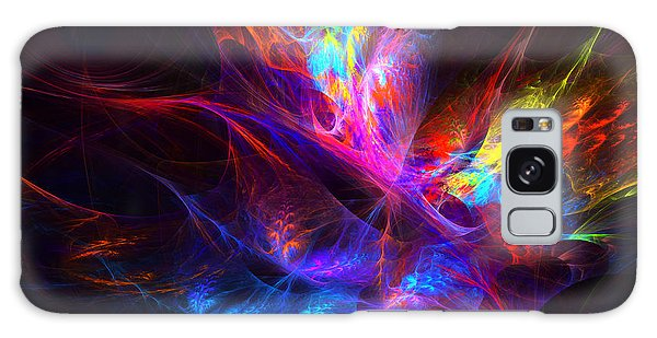Vivid Imagination Galaxy Case by Arlene Sundby