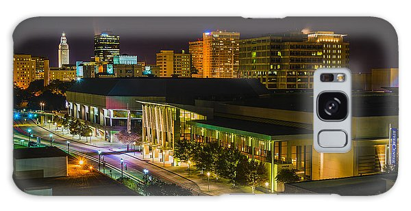 Vividly Downtown Baton Rouge Galaxy Case by Andy Crawford