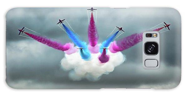 Airplanes Galaxy Case - Vixen Break by Peter Walmsley