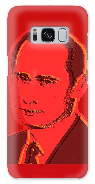 Vladimir Putin Galaxy Case by Jean luc Comperat