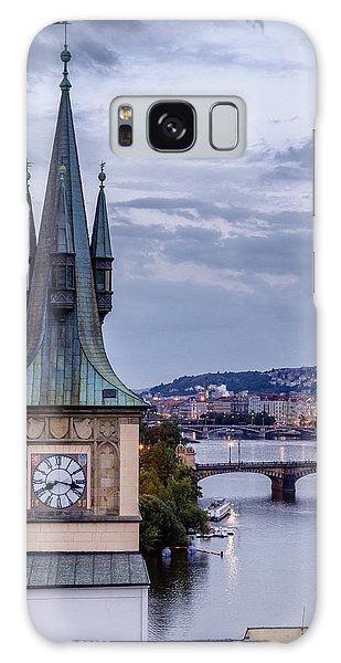 Vltava River In Prague Galaxy Case