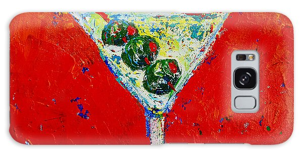 Vodka Martini Shaken Not Stirred - Martini Lovers - Modern Art Galaxy Case