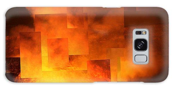 Volcanic Fire - Kilauea Caldera  Galaxy Case