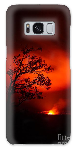 Volcano National Park Hawaii Galaxy Case