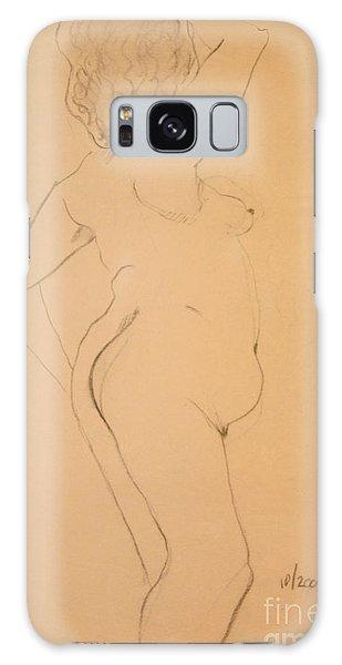 Voluptuous Nude Galaxy Case by Gabrielle Schertz