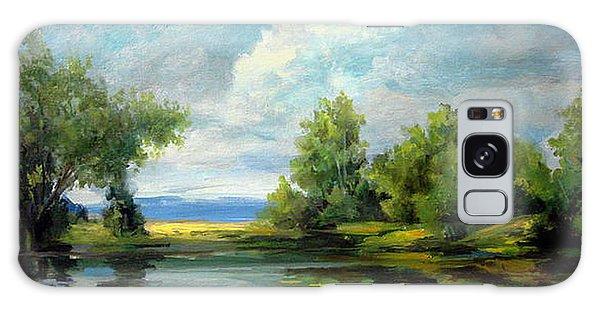 Voronezh River Beauty Galaxy Case