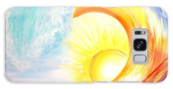 Vortex Wave Galaxy Case by Agata Lindquist