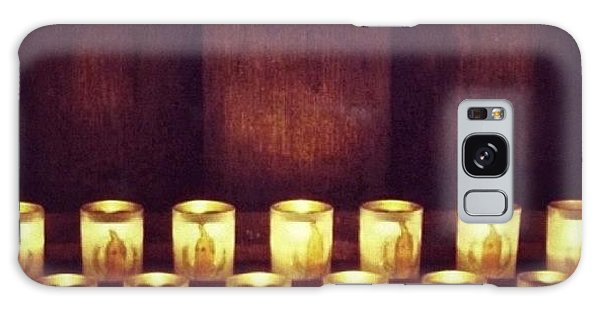 Religious Galaxy Case - Votive Candles - Notre Dame Cathedral by Anna Porter