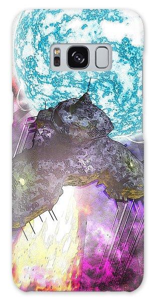 Voyage Galaxy Case by Matt Lindley