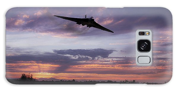 Black Buck Galaxy Case - Vulcan Over The Water  by J Biggadike