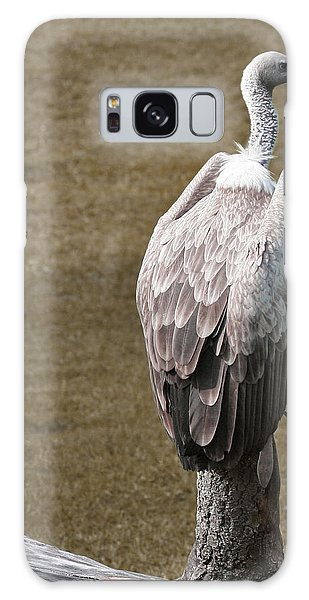 Vulture On Guard Galaxy Case
