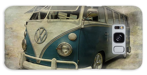 Vw Bus On Display Galaxy Case
