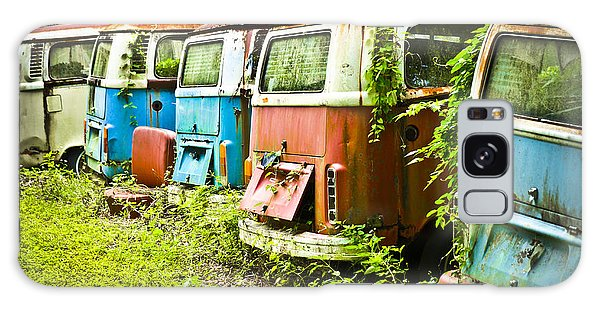 Galaxy Case featuring the photograph Vw Buses by Carolyn Marshall