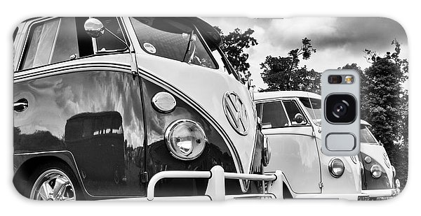 Vw Splitties Monochrome Galaxy Case