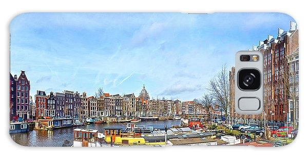 Waalseilandgracht Amsterdam Galaxy Case
