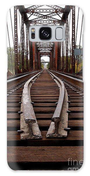 Waco Tracks Galaxy Case by Sherry Davis