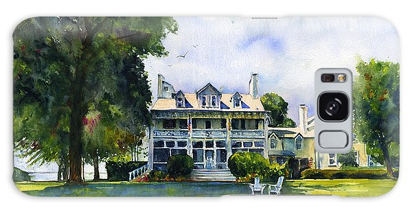 Wades Point Inn Galaxy Case by John D Benson