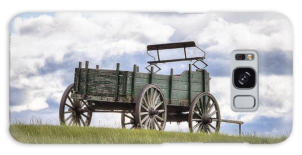 Wagon On A Hill Galaxy Case