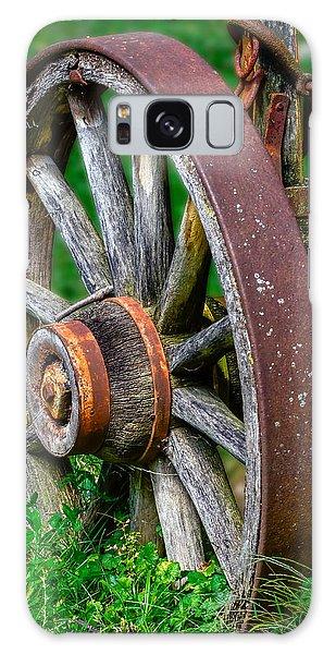 Wagon Wheel Galaxy Case by Brian Stevens