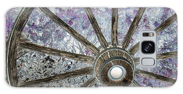 Wagon Wheel Study 1 Galaxy Case by Sylvia Thornton