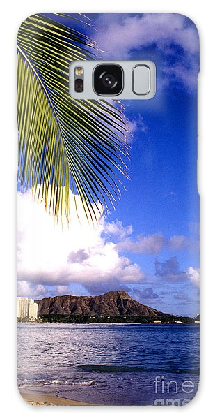 Waikiki Beach Diamond Head Galaxy Case