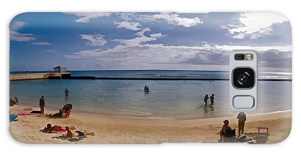 Waikiki Breakwater Galaxy Case