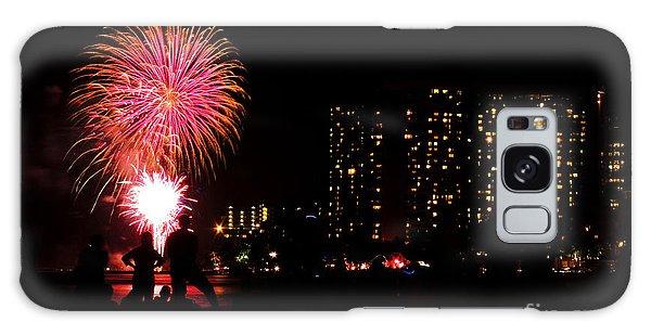 Waikiki Fireworks Galaxy Case